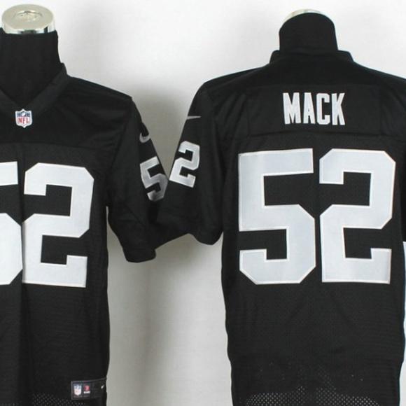 4b902f13f Nike Shirts | Men Nfl Khalil Mack Oakland Raiders Jersey | Poshmark